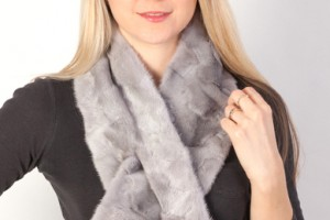 Real fur scarves for women and men